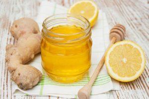 Лимон с медом для выведения мокроты