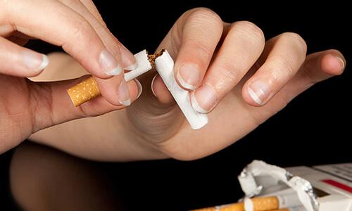 Набор веса после отказа от сигарет