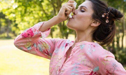 Опасность курения при астме