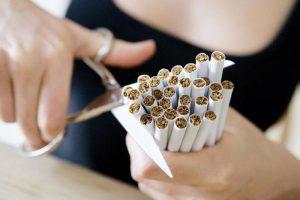 Отказ от курения для лечения одышки
