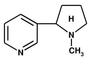 Формула никотина