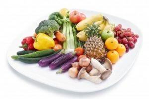 Употребление овощей и фруктов для выведения токсинов