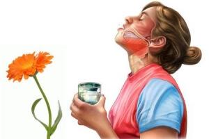 Полоскание рта травами для снижения влечения к курению