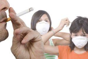 Появление тяги к курению по примеру родителей