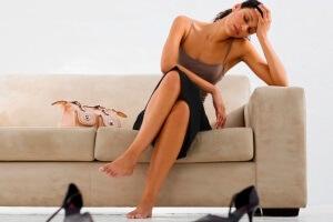 Слабость - симптом аллергии на никотин