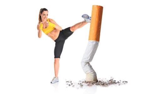 Спорт против зависимости от курения