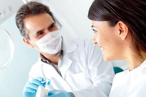Отбеливание зубов у стоматолога