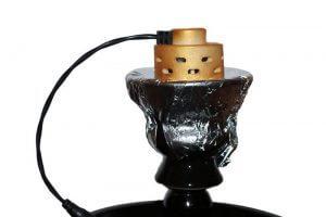 Электрический уголь для кальяна