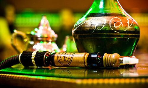 Кальян с вином
