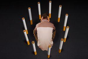 Никотиновая ломка у бросающих курить