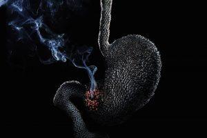Вред курения для желудка