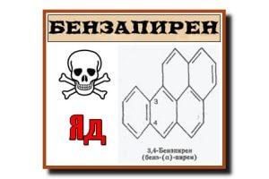 Бензапирен - опасный компонент в составе курительных смесей