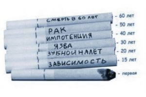 Болезни, вызываемые сигаретами