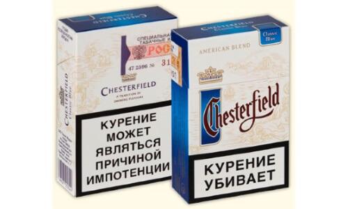 Сигареты Честерфилд