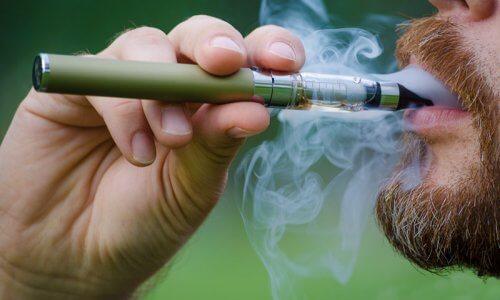 Использование электронной сигареты
