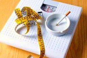 Желание сбросить вес с помощью курения