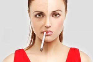 Проблемы с кожей у курильщика