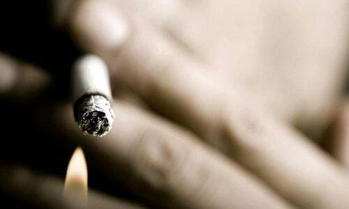 Появление мокроты у курильщиков