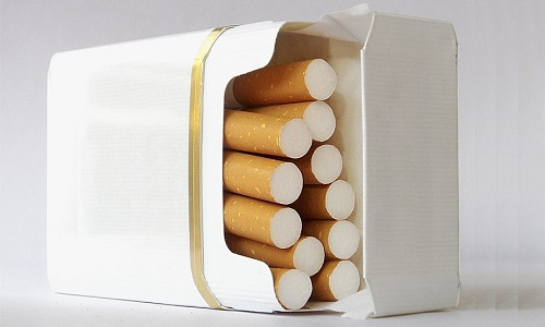 Количество выкуренных сигарет