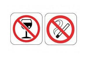 Отказ от алкоголя и курения после удаления желчного пузыря