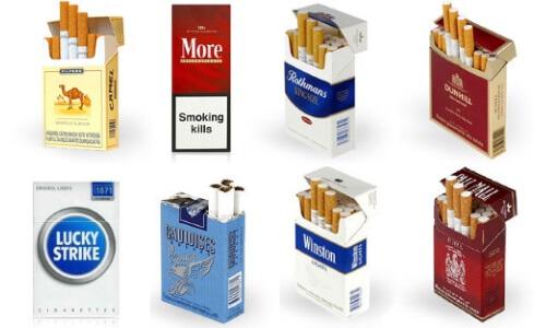 Популярные марки сигарет
