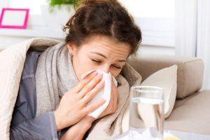 Возникновение простудных заболеваний после отказа от курения
