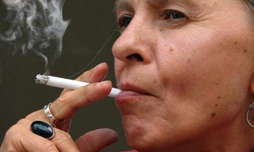 Прыщи при курении
