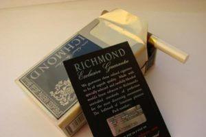 Сигареты «Ричмонд» с ароматом вишни