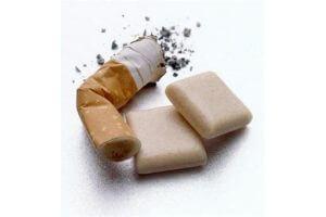 Сниженное содержание никотина в жевательных резинках Никоретте