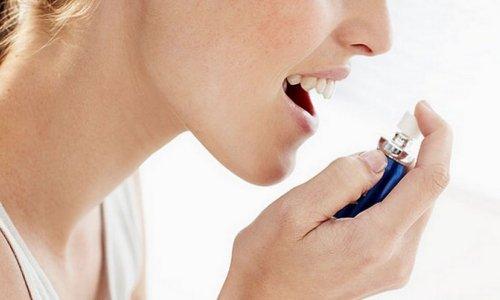 Применение спреев для борьбы с никотиновой зависимостью