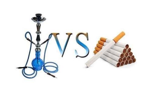 Вред кальяна и сигарет