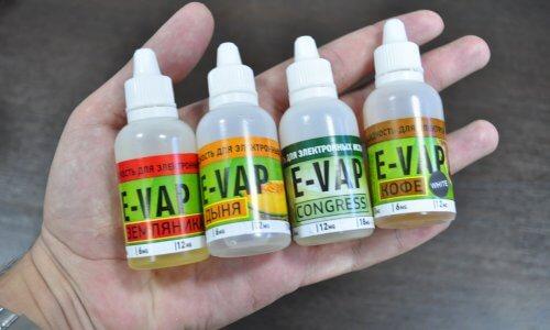 Разнобразие жидкостей для электронных сигарет