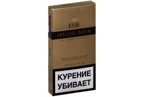 Сигареты Esse super slims gold