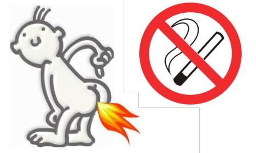 Проблема курения при геморрое