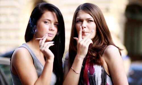 Выпадают волосы от курения