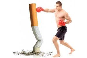 Ведение здорового образа жизни в борьбе с курением