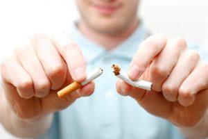Необходимость сознательного желания бросить курить