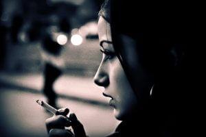 Курение при стрессах и депрессиях