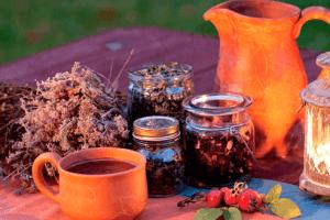 Заваривание чая при кашле курильщика