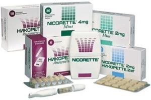 Препараты Никоретте от курения