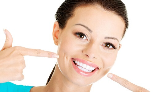 Отбеливание зубов курильщика