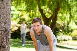 Появление одышки при физических нагрузках