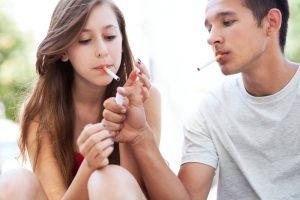 Прекращение роста мышц при курении в подростковом возрасте