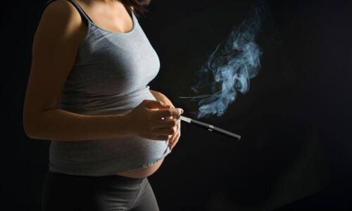 Электронные сигареты при берменности