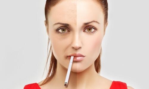 Восстановление кожи курильщика