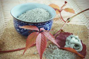 Голубая глина от целлюлита