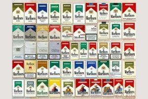 """Разнообразие сигарет """"Мальборо"""""""
