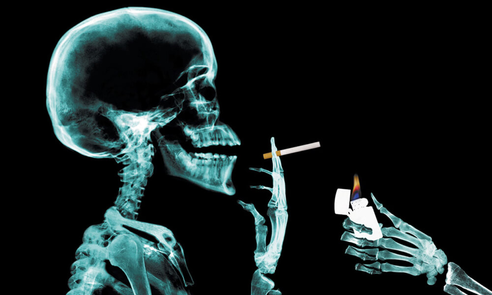 табачный запах изо рта