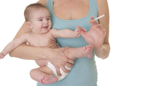 Вред курения в период кормления грудью