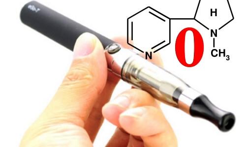 Безникотиновая электронная сигарета